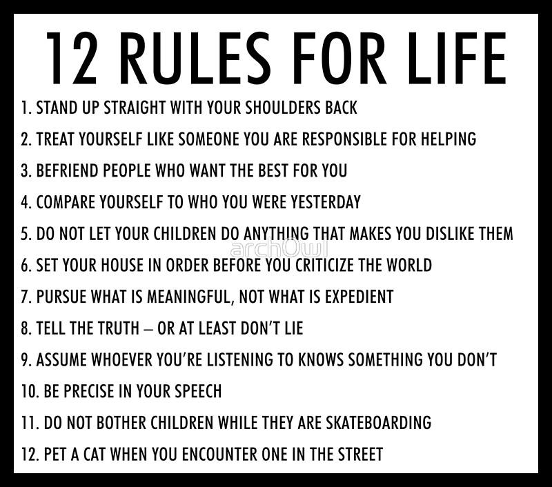 Regularmente raqueta Ejemplo  12 Rules for Life: An Antidote to Chaos eBook: Jordan B. Peterson: eBooks