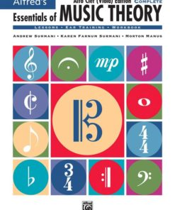 """/""""ALFRED/'S ESSENTIALS OF MUSIC THEORY-BOOK 3/"""" MUSIC BOOK-BRAND NEW ON SALE!!"""